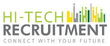 Hi-Tech Recruitment Mobile Logo